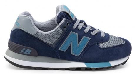 buy online 11c03 df892 The Shoe Man M 574-Suede Mesh