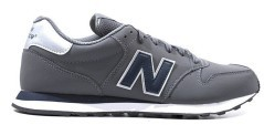 The Shoe Man M 500 Gray Side-Blue