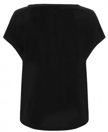 T-Shirt Donna Active Fitness Tee Frontale Nero
