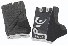 Gloves Women Gym Front-To-Back Black-Grey