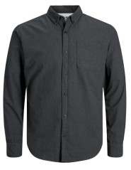 Man shirt Button-Down grey var1