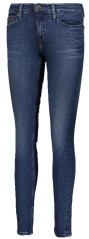 Jeans Donna Mid Rise Skinny Nora Frontale Blu