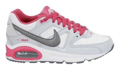 Scarpe bambina Air Max Command colore Bianco Rosa - Nike - SportIT.com 145af78d2e4