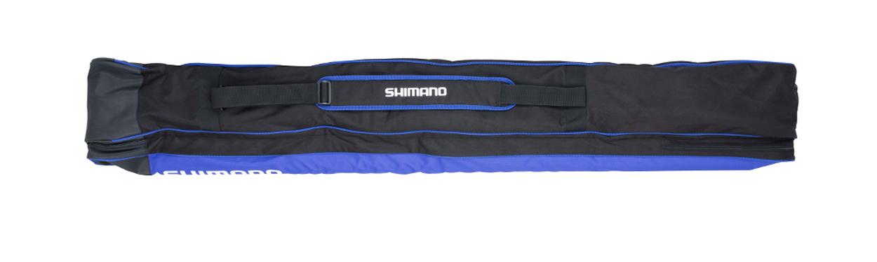 SHALLR11 Fodero Portacanne Pesca Shimano All-Round Double Rod 2+1 Holdall FEU