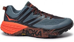 Shoes Trail Running Man Speedgoat 3 A5 grey orange