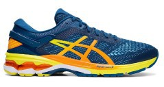 Mens shoes Kayano 26 blue orange