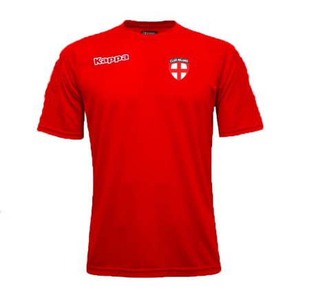 T-Shirt Herren Trainings-Spieler Milano, Barona rot