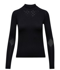 T-shirt Donna Turtle Neck ACT nero