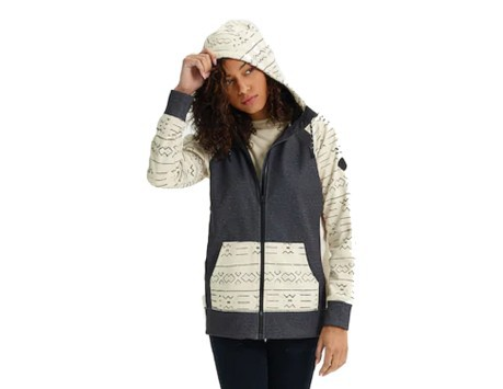 Felpa Donna Crown Bonded Full Zip