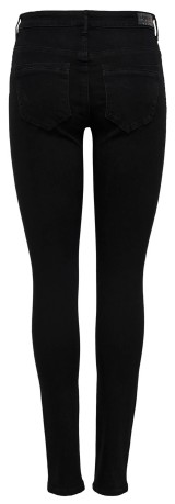 Jeans Donna OnlPaola Frontale Nero
