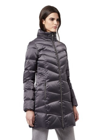 Damen jacke Down Mountain W grau