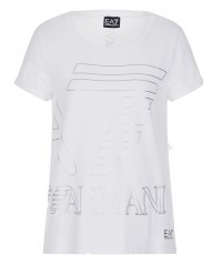 T-Shirt Donna Casual Sport 7 Color bianco