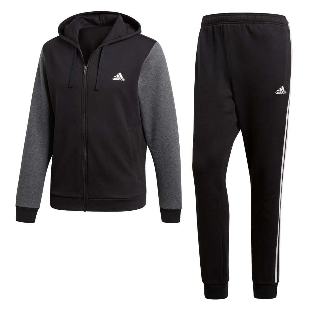 Dettagli su Tuta Uomo Cotone Energize Adidas