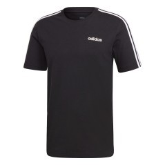 T-Shirt Essential 3 Stripes nero