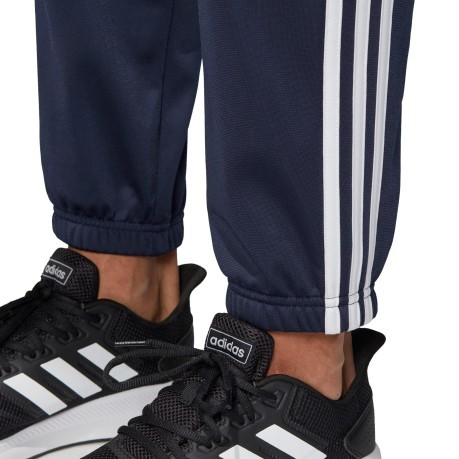Tuta uomo Back to Basic 3 Stripes nero-nero