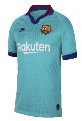 Nike FC Barcelona Stadium Third 19/20 blue