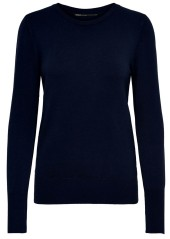 Sweater Woman Onlvenice Blue Front