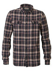 Man shirt Plaid With Pockets blue