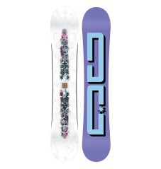Snowboard Women's Biddy white-purple
