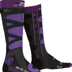 Stockings Women Sports Ski Control 4.0-grey-purple