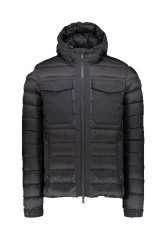 Jacket mens Quilted Borian the grey