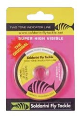 Wire New Two Tone Indicator 0.25 mm pink yellow