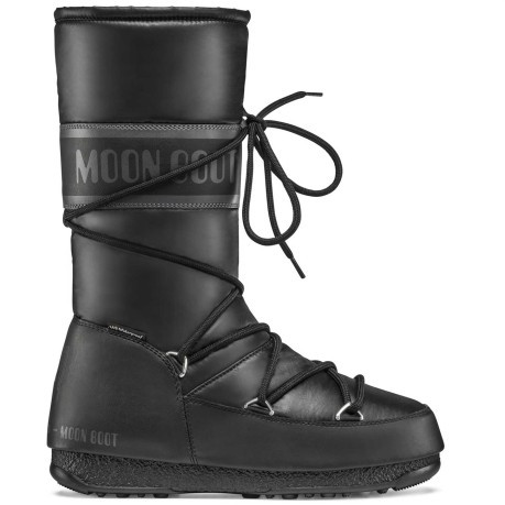 Moon Boot-Damen-Nylon High WP schwarz