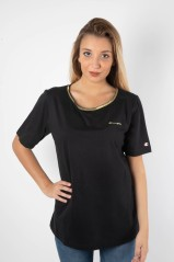 T-Shirt Donna Lady Tee Frontale Nero