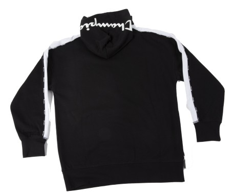 Felpa Junior Over Hoodie nero