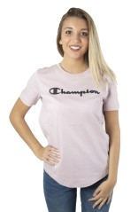 T-Shirt Donna W American Classics Tee Frontale Rosa