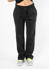 Pantalone Donna W Lady Pants Stretch Dritto Frontale Nero