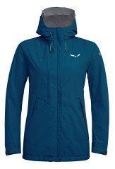 Jacket Trekking Woman Puez Clastic Powertex 2-Layer blue