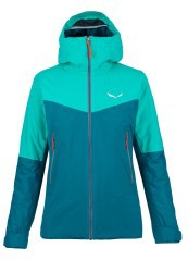 Jacket Trekking Woman Puez Powertex Tirowool Celliant 2 Layers green