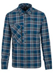Man shirt Fanes Flannel 4 Polarlite blue fantasy