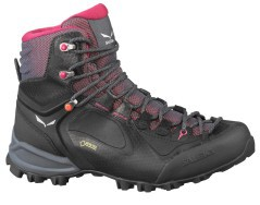 Hiking shoe Woman Alpenviolet Mid GTX black pink