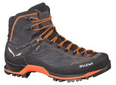 Schuh Trekking Herren Mountain Trainer Mid GTX-grau-orange