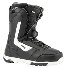 Boot Snowboard Man Sentinel black white