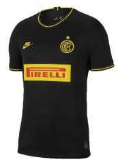 Nike jersey Inter Stadium Third jr 19/20 black yellow