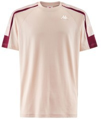 T-Shirt Mann-Band 10 Arset rosa, lila