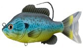 Artificiale Sunfish Swimbait 130 mm blu giallo