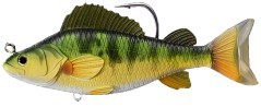 Artificiale Yellow Perch Swimbait 134 mm marrone