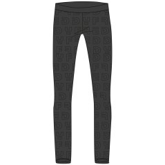 Pantaloni Donna Basic Tech nero