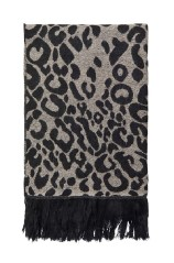 Scarf Woman Thousand Double Face black