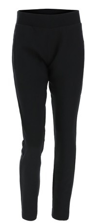 Pantaloni Donna Basic Cotton nero