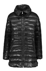 Quilted jacket ladies Vinessa 800FP Shape black at the front