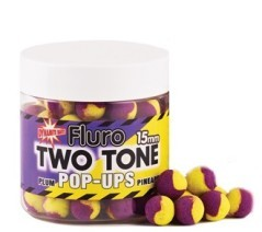 Fluro Pop-Ups 15 mm Two Tone
