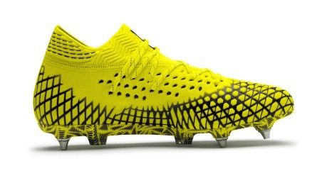 scarpe calcio puma gialle