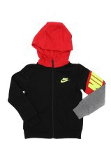Fleece Baby Core black red