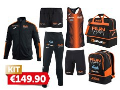 Kit Running Run Life Donna kit completo