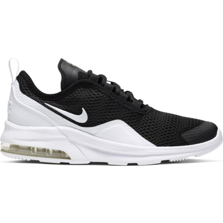 Nike Air Max Motion Gs 2 Laterale Bianco Nero